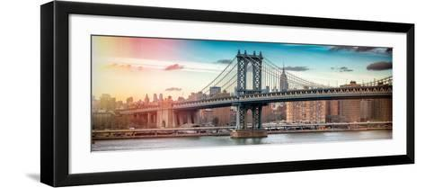 Panoramic Landscape - Instants of NY Series-Philippe Hugonnard-Framed Art Print