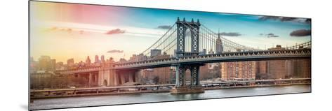 Panoramic Landscape - Instants of NY Series-Philippe Hugonnard-Mounted Photographic Print