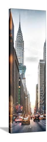 Instants of NY Series - Vertical Panoramic-Philippe Hugonnard-Stretched Canvas Print