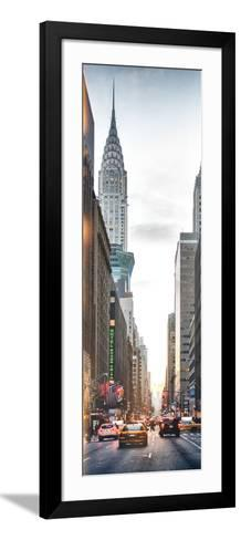 Instants of NY Series - Vertical Panoramic-Philippe Hugonnard-Framed Art Print