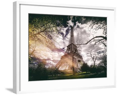 Instants of Series - Eiffel Tower - Paris, France-Philippe Hugonnard-Framed Art Print