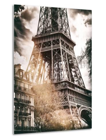 Instants of Series - Eiffel Tower - Paris, France-Philippe Hugonnard-Metal Print