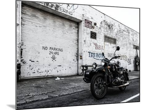 Motorcycle Garage in Brooklyn-Philippe Hugonnard-Mounted Photographic Print