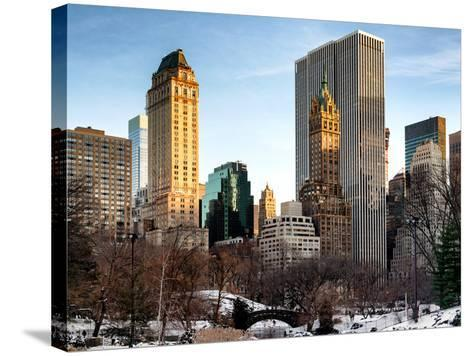 NYC Architecture and Buildings-Philippe Hugonnard-Stretched Canvas Print