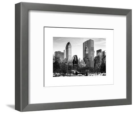 NYC Architecture and Buildings-Philippe Hugonnard-Framed Art Print