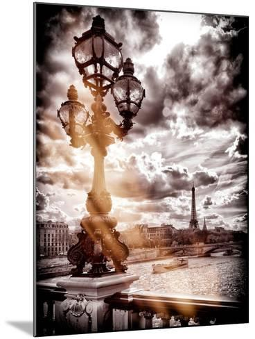Instants of Series - Alexander III and Eiffel Tower - Paris, France-Philippe Hugonnard-Mounted Photographic Print