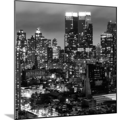Cityscape Manhattan by Night-Philippe Hugonnard-Mounted Photographic Print