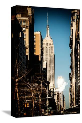 Empire State Building-Philippe Hugonnard-Stretched Canvas Print