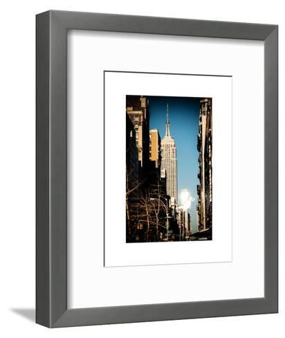 Empire State Building-Philippe Hugonnard-Framed Art Print