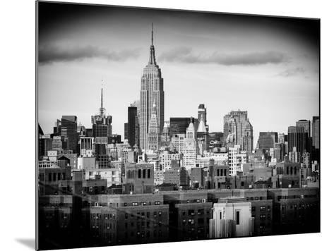 Manhattan Skyline-Philippe Hugonnard-Mounted Photographic Print