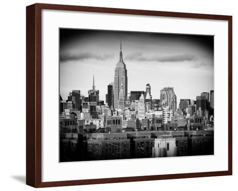 Manhattan Skyline-Philippe Hugonnard-Framed Art Print