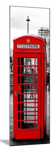 Red Telephone Booths - London - UK - England - United Kingdom - Europe - Door Poster-Philippe Hugonnard-Mounted Photographic Print