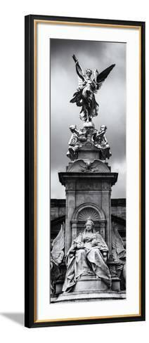 Victoria Memorial at Buckingham Palace - London - England - United Kingdom - Europe - Door Poster-Philippe Hugonnard-Framed Art Print