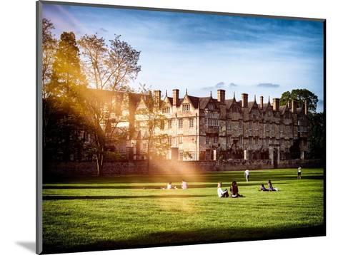 The University of Oxford - Architecture & Building - Oxford - UK - England - United Kingdom-Philippe Hugonnard-Mounted Photographic Print