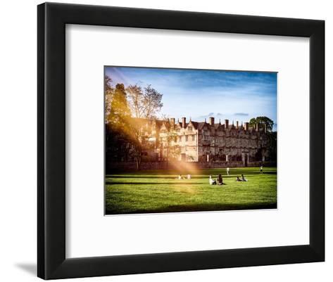 The University of Oxford - Architecture & Building - Oxford - UK - England - United Kingdom-Philippe Hugonnard-Framed Art Print