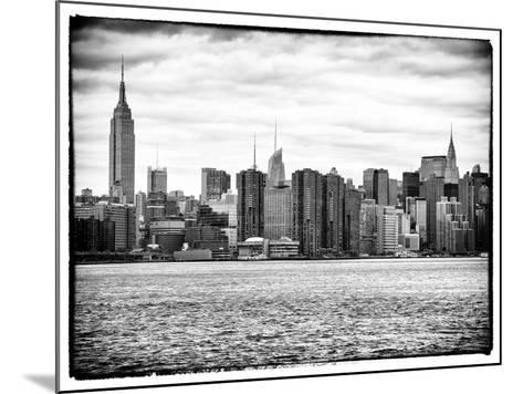 Landscape View Manhattan with the Empire State Building and Chrysler Building - New York-Philippe Hugonnard-Mounted Photographic Print