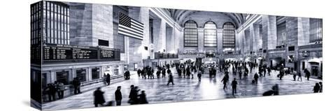 Panoramic View - Grand Central Terminal at 42nd Street and Park Avenue in Midtown Manhattan-Philippe Hugonnard-Stretched Canvas Print