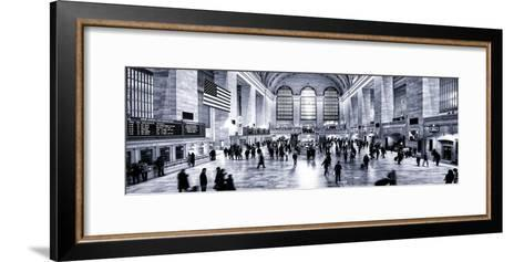 Panoramic View - Grand Central Terminal at 42nd Street and Park Avenue in Midtown Manhattan-Philippe Hugonnard-Framed Art Print