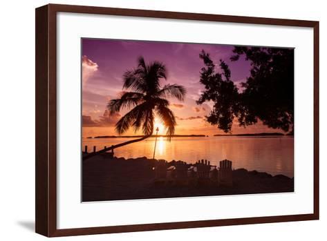 Four Chairs at Sunset - Florida-Philippe Hugonnard-Framed Art Print