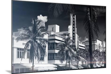 Instants of Series - Art Deco Architecture of Miami Beach - The Esplendor Hotel Breakwater-Philippe Hugonnard-Mounted Photographic Print