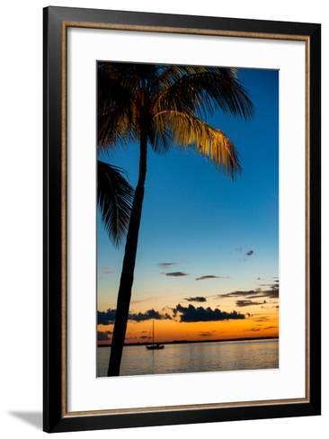 Sunset Landscape - Miami - Florida-Philippe Hugonnard-Framed Art Print