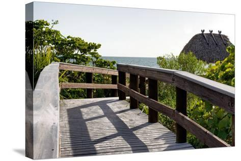 Gateway to the Beach - Florida-Philippe Hugonnard-Stretched Canvas Print