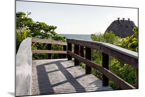 Gateway to the Beach - Florida-Philippe Hugonnard-Mounted Photographic Print