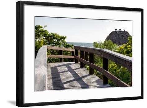Gateway to the Beach - Florida-Philippe Hugonnard-Framed Art Print