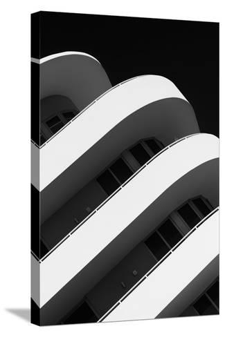 Art Deco Architecture of Miami Beach - South Beach - Florida-Philippe Hugonnard-Stretched Canvas Print