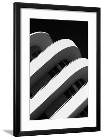 Art Deco Architecture of Miami Beach - South Beach - Florida-Philippe Hugonnard-Framed Art Print