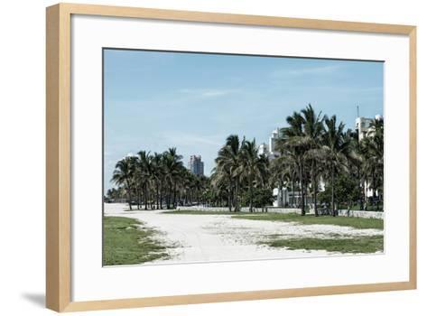 Miami Beach - South Beach - Florida-Philippe Hugonnard-Framed Art Print