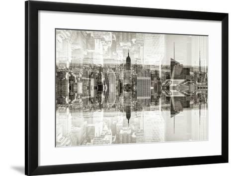 New York City Reflections Series-Philippe Hugonnard-Framed Art Print