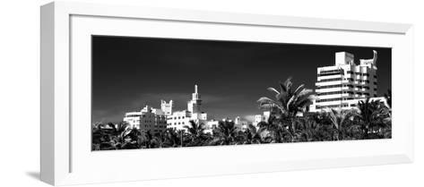 Miami Architecture - Miami Beach - Florida-Philippe Hugonnard-Framed Art Print