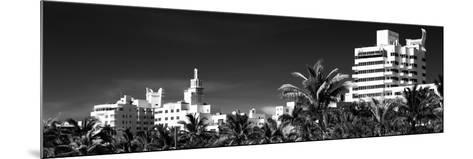 Miami Architecture - Miami Beach - Florida-Philippe Hugonnard-Mounted Photographic Print