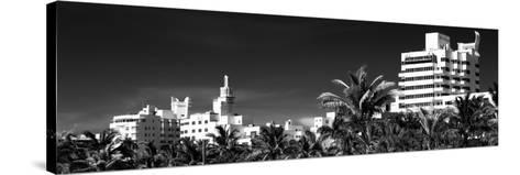 Miami Architecture - Miami Beach - Florida-Philippe Hugonnard-Stretched Canvas Print