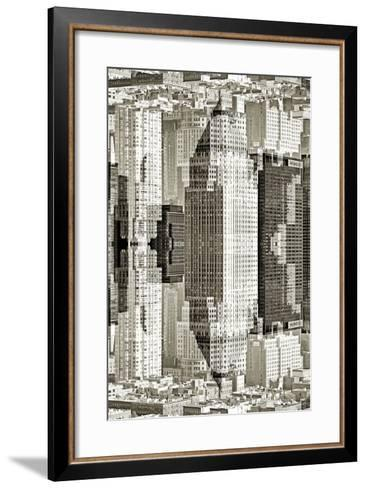 New York City Reflections Series-Philippe Hugonnard-Framed Art Print