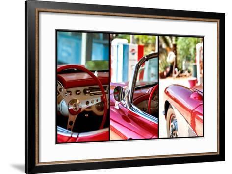 Classic Car - Chevrolet-Philippe Hugonnard-Framed Art Print