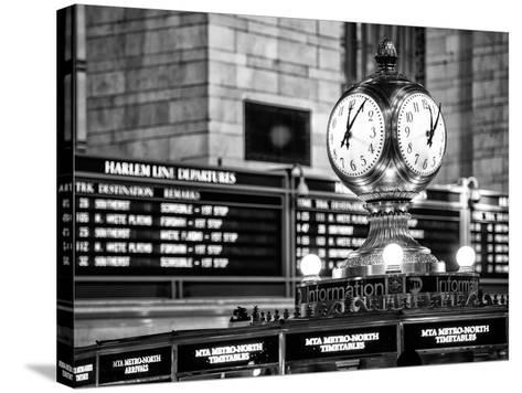 Grand Central Terminal's Four-Sided Seth Thomas Clock - Manhattan - New York-Philippe Hugonnard-Stretched Canvas Print