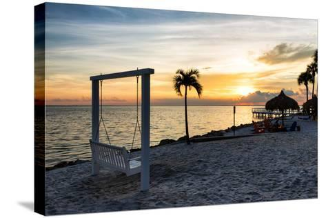Swing at Sunset-Philippe Hugonnard-Stretched Canvas Print