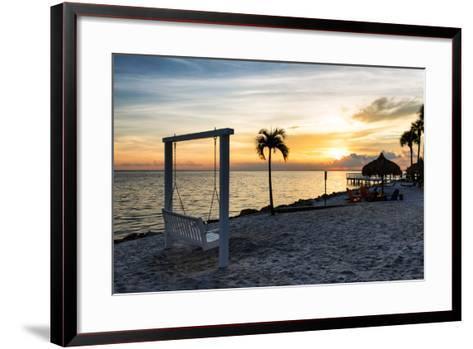 Swing at Sunset-Philippe Hugonnard-Framed Art Print