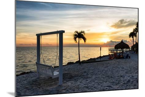 Swing at Sunset-Philippe Hugonnard-Mounted Photographic Print