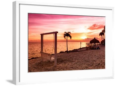 Swing at Sunset-Philippe Hugonnard-Framed Art Print