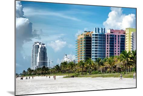 Colorful Architecture - Miami Beach - Florida-Philippe Hugonnard-Mounted Photographic Print