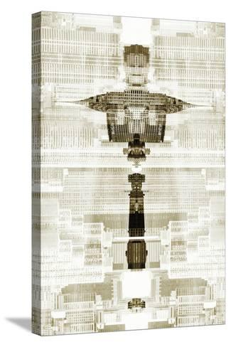 New York City Reflections Series-Philippe Hugonnard-Stretched Canvas Print