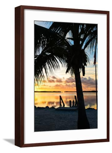 Silhouette at Sunset - Florida-Philippe Hugonnard-Framed Art Print