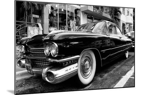 Classic Cars on South Beach - Miami - Florida-Philippe Hugonnard-Mounted Photographic Print