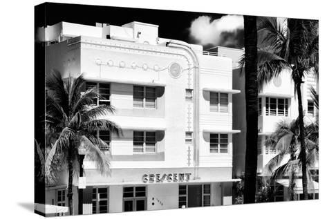 Art Deco Architecture of Ocean Drive - Miami Beach - Florida-Philippe Hugonnard-Stretched Canvas Print