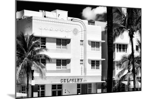 Art Deco Architecture of Ocean Drive - Miami Beach - Florida-Philippe Hugonnard-Mounted Photographic Print