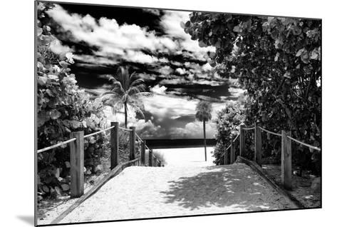Boardwalk on the Beach - Miami - Florida - United States-Philippe Hugonnard-Mounted Photographic Print