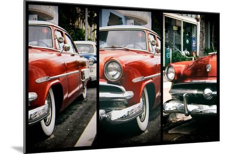Triptych Collection - Classic Antique Ford of Art Deco District - Miami - Florida-Philippe Hugonnard-Mounted Photographic Print